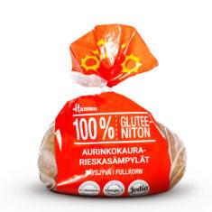 Hannun 100% Gluteeniton Aurinkokaura-rieskasämpylät