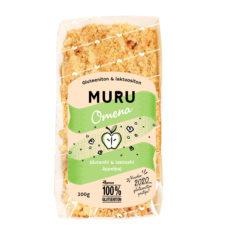 Hannun 100% Gluteeniton Muru Omena on gluteeniton ja laktoositon muropiirakka.