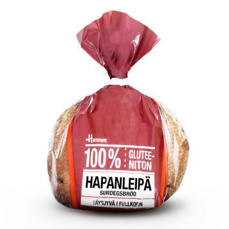 Hannun 100 % Gluteeniton Hapanleipä