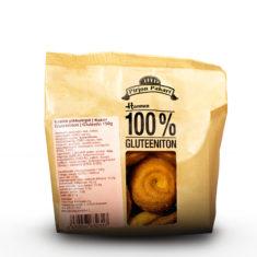 Hannun 100% Gluteeniton Vaalea Pikkuleipä paperisessa pussissa